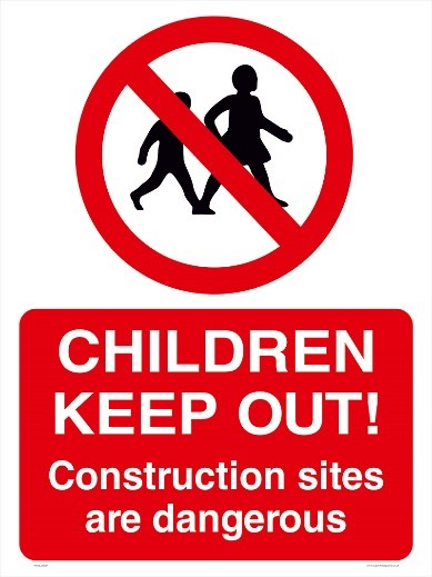 Children Keep Out!